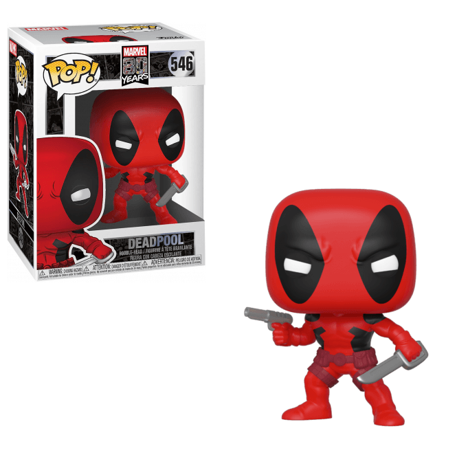 Marvel 80th Pop! Vinyl Figure First Appearance Deadpool [546]