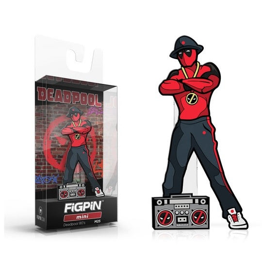 Deadpool: FiGPiN Mini Enamel Pin Deadpool 80s [M25] - Fugitive Toys