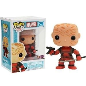 Marvel Pop! Vinyl Bobblehead Maskless Deadpool Red [Previews Exclusive] [29]