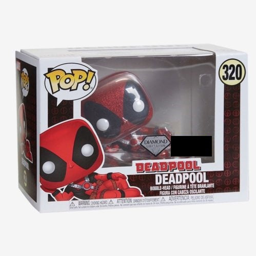 Marvel Pop! Vinyl Figure Deadpool Diamond [320]