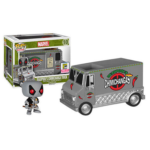 Marvel Pop! Rides X-Force Deadpool's Chimichanga Truck [SDCC 2015 Exclusive]
