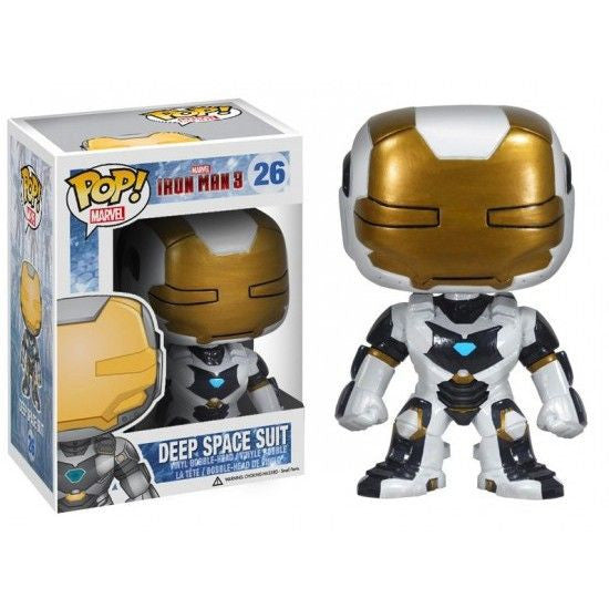 Marvel Iron Man 3 Pop! Vinyl Bobblehead Deep Space Suit Iron Man [26]