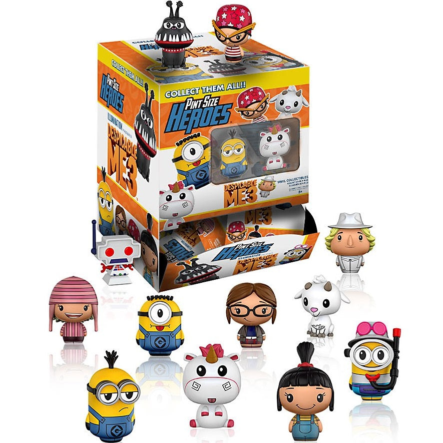 Funko Pint Size Heroes Despicable Me 3: (1 Blind Pack) - Fugitive Toys