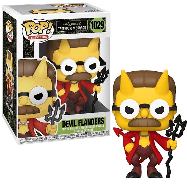 The Simpsons Treehouse of Horror Pop! Vinyl Figure Devil Flanders [1029]