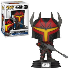 Star Wars The Clone Wars Pop! Vinyl Figure Gar Saxon [411] - Fugitive Toys