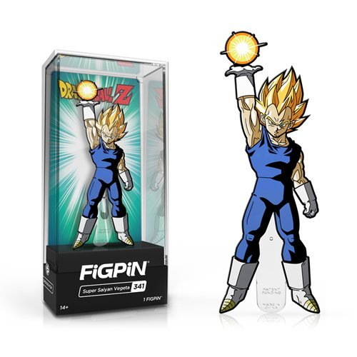 Dragon Ball Z: FiGPiN Enamel Pin Super Saiyan Vegeta [341]