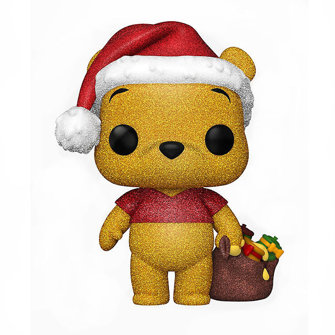 Disney Pop! Vinyl Figure Holiday Winnie The Pooh (Diamond Glitter)