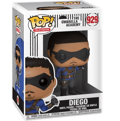 The Umbrella Academy Pop! Vinyl Figure Diego Hargreeves [929] - Fugitive Toys