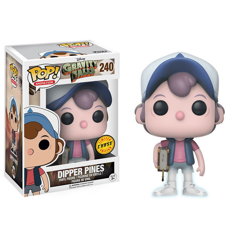 Gravity Falls Pop! Vinyl Figure Dipper Pines (Chase) - Fugitive Toys