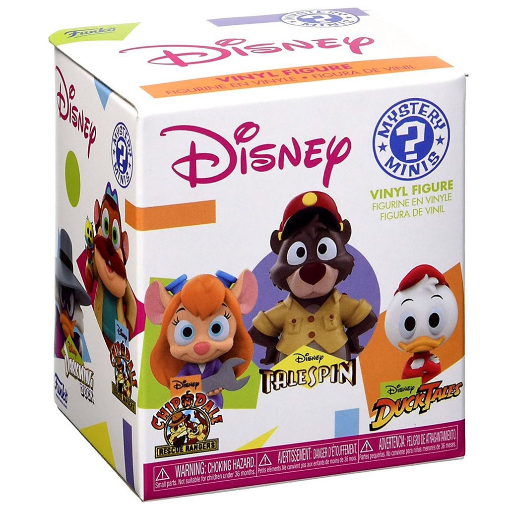 Funko Mystery Minis Disney Afternoon Cartoons: (1 Blind Box)
