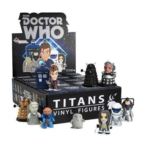 Titans Doctor Who Vinyl Figures Series 2 [The 10th Doctor Series] (Case of 20) - Fugitive Toys