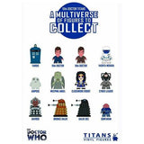 Titans Doctor Who Vinyl Figures Series 2 [The 10th Doctor Series] (1 Blind Box) - Fugitive Toys