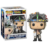 Back To The Future Pop! Vinyl Figure Doc with Helmet [959] - Fugitive Toys