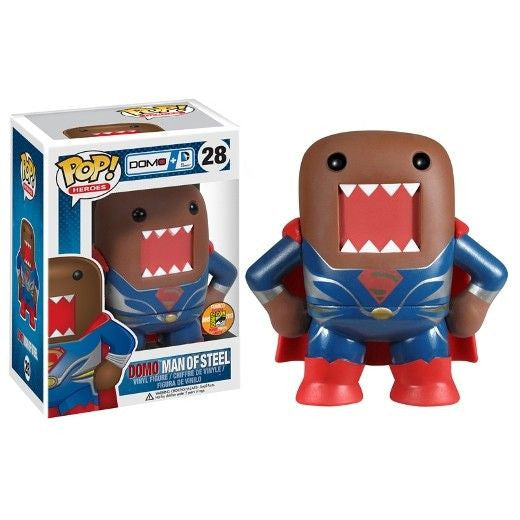 DC Universe Pop! Vinyl Figure Domo Man of Steel Superman [SDCC 2013 Exclusive]
