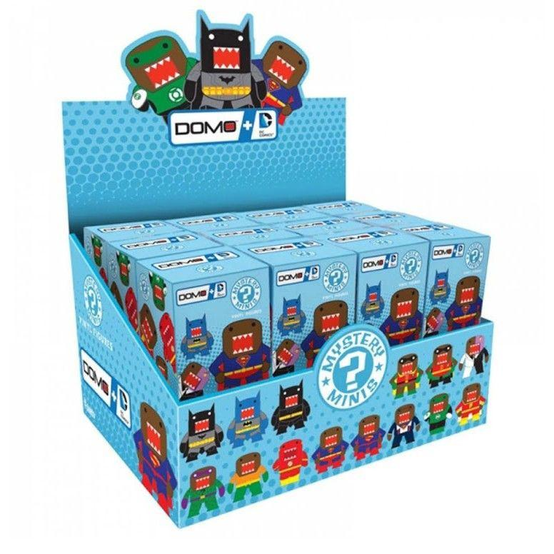 Domo+DC Mystery Minis: (Case of 24)