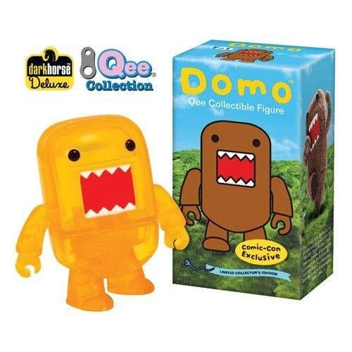 "Domo 2"" Qee: Transparent Yellow (SDCC 2009 Exclusive)"