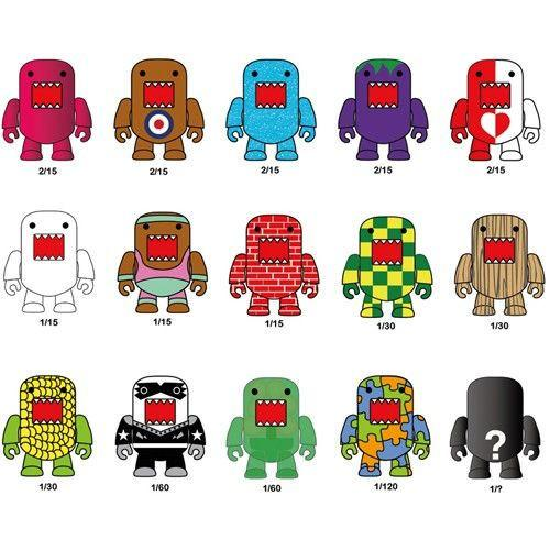 "Dark Horse Domo 2"" Qee Series 5 (1 Blind Box)"