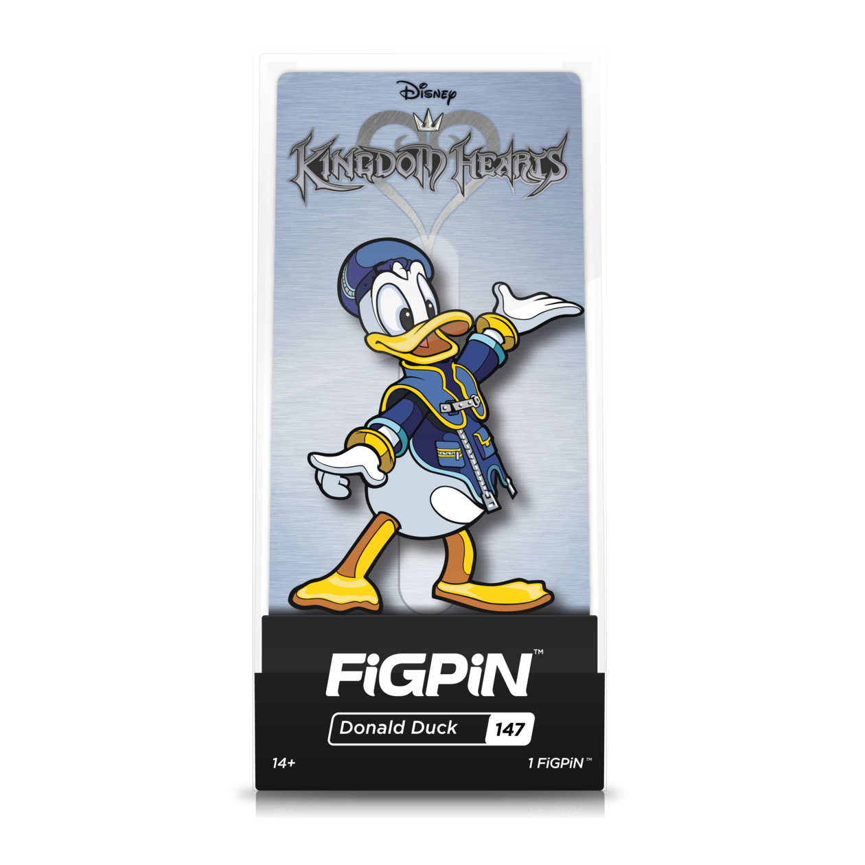Disney Kingdom Hearts: FiGPiN Enamel Pin Donald Duck [147]