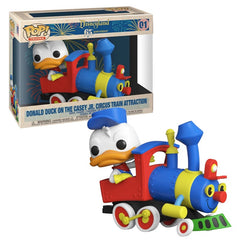 Disney 65th Anniversary Pop! Vinyl Trains Casey Jr Donald Duck w/Engine [01]