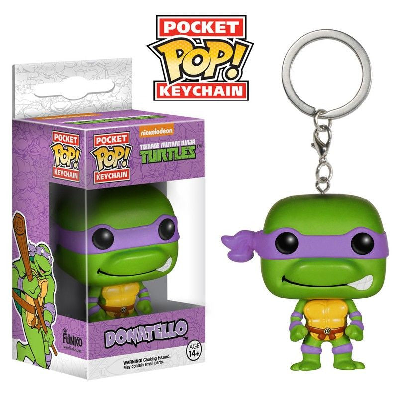 Teenage Mutant Ninja Turtles Pocket Pop! Keychain Donatello - Fugitive Toys