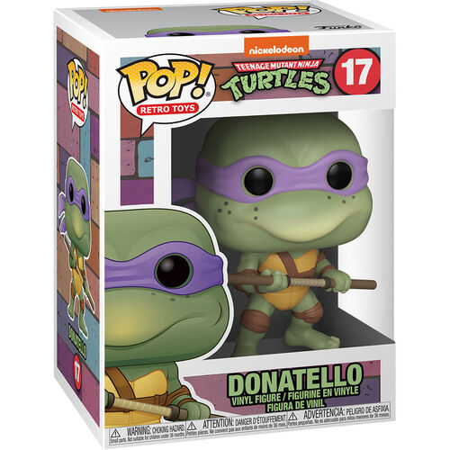 Teenage Mutant Ninja Turtles Pop! Vinyl Figure Donatello [17]