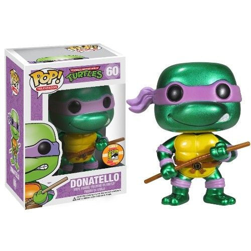 Teenage Mutant Ninja Turtles Pop! Vinyl Figure Metallic Donatello [SDCC 2013 Exclusive] [60]