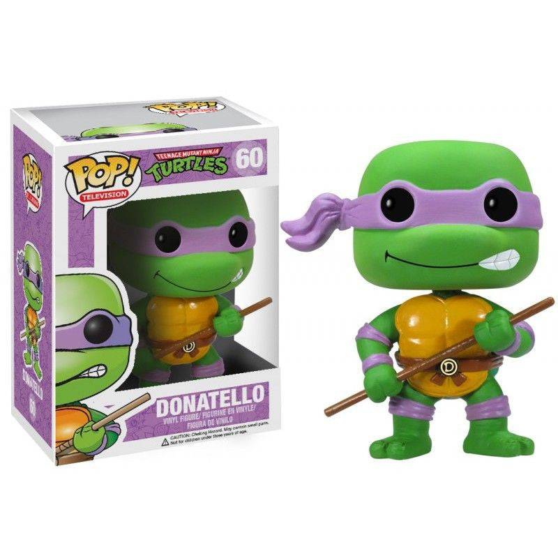 Teenage Mutant Ninja Turtles Pop! Vinyl Figure Donatello [60]