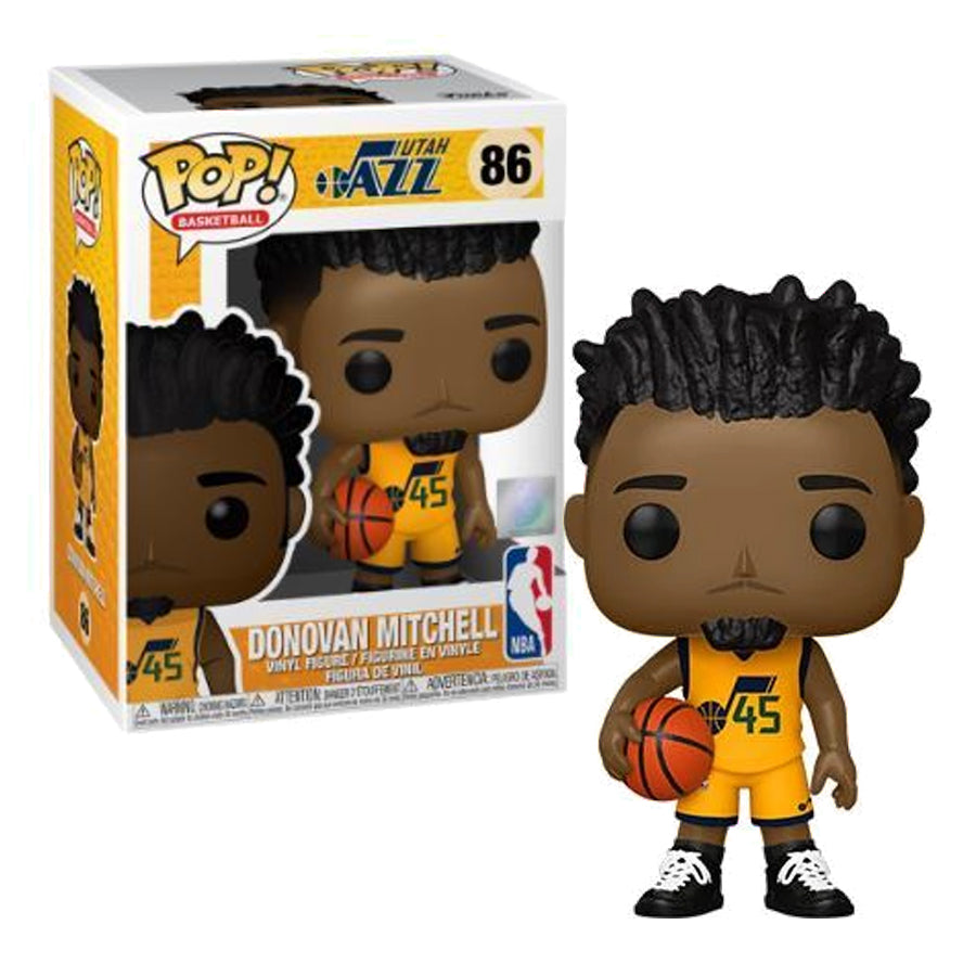NBA Pop! Vinyl Utah Jazz Donovan Mitchell (Alternate Uniform) [86]
