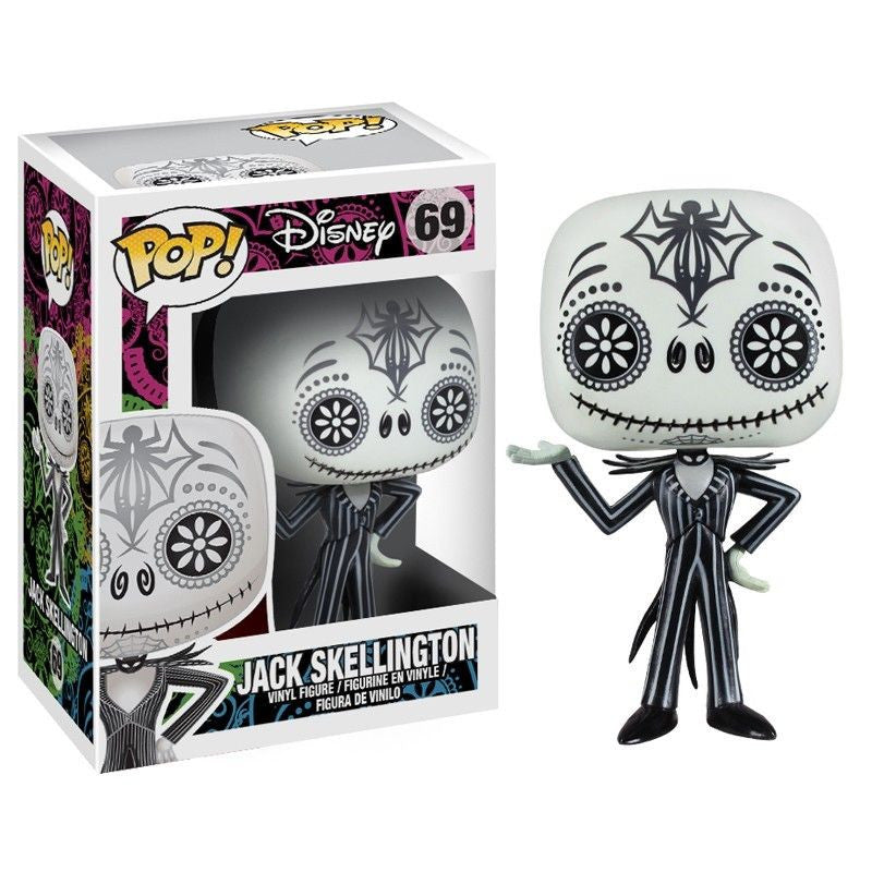 Disney Pop! Vinyl Figure Day of the Dead Jack Skellington - Fugitive Toys