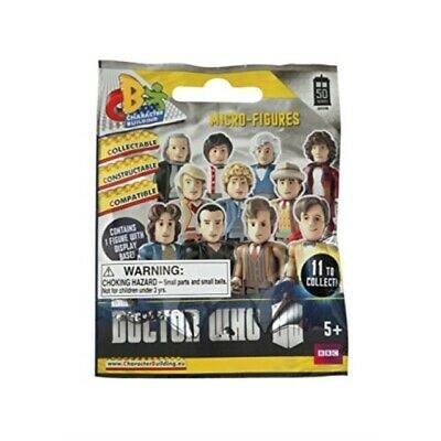 Doctor Who 50th Anniversary Micro-Figures: (1 Blind Bag) - Fugitive Toys
