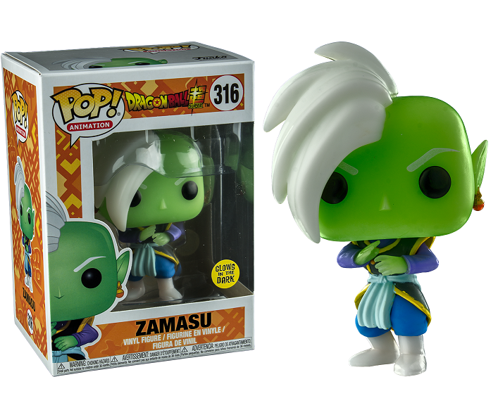 Dragon Ball Super Pop! Vinyl Figure Glow In The Dark Zamasu [316] - Fugitive Toys