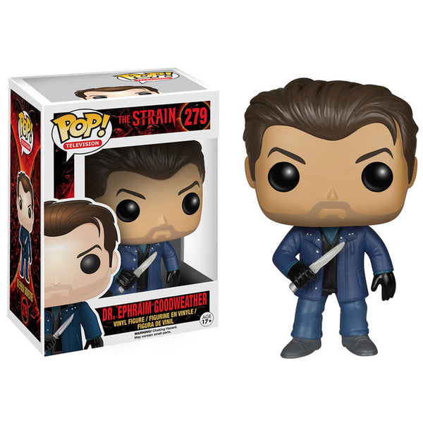 The Strain Pop Vinyl Figure Dr Ephraim Goodweather