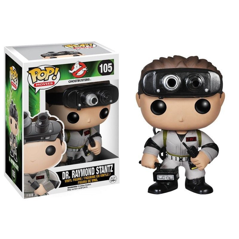 Movies Pop! Vinyl Figure Dr. Raymond Stantz [Ghostbusters]