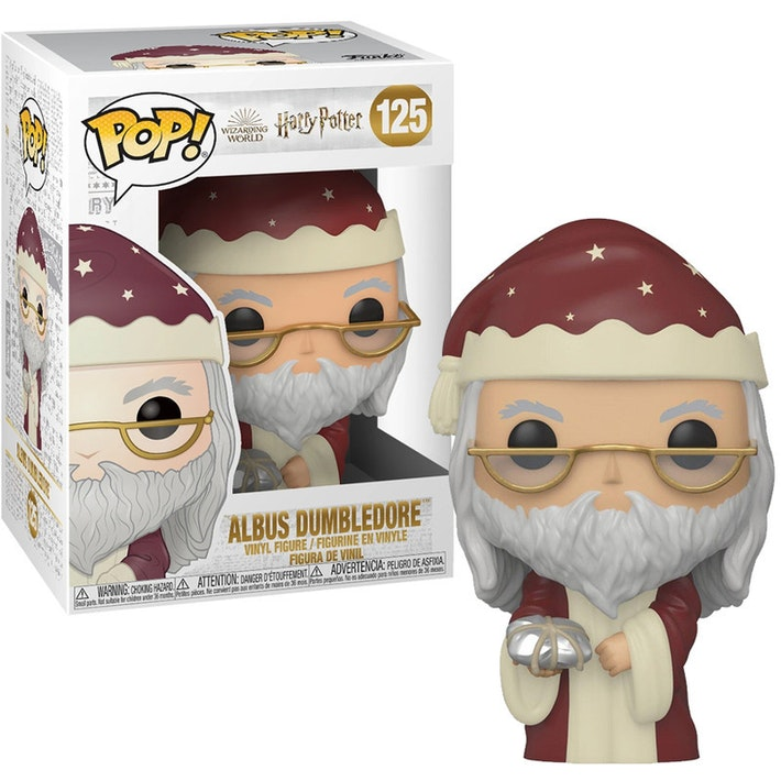 Harry Potter Pop! Vinyl Figure Holiday Albus Dumbledore [125]