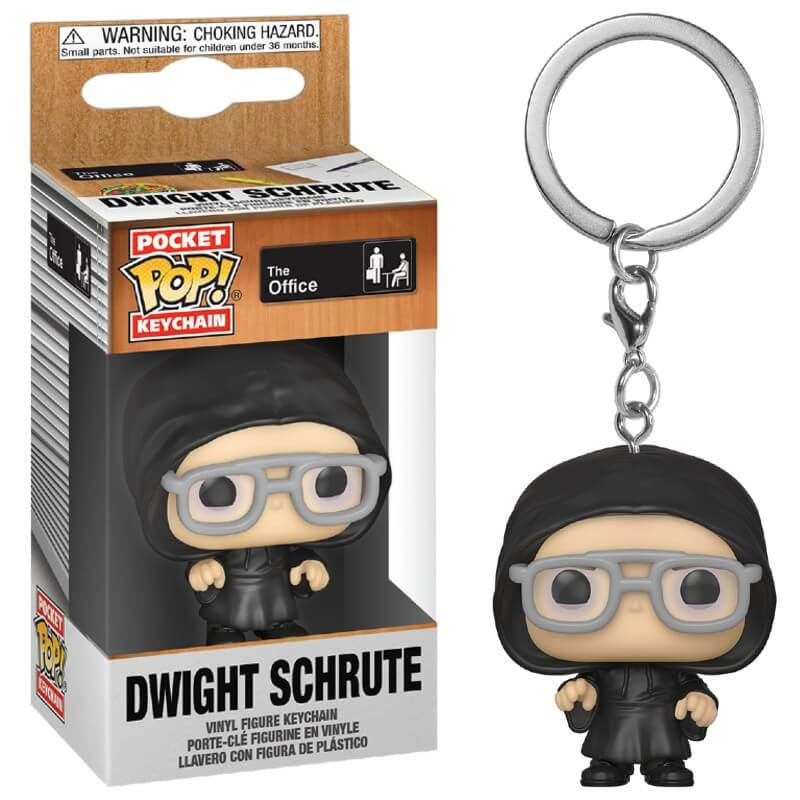 The Office Pocket Pop! Keychain Dwight Schrute as Dark Lord