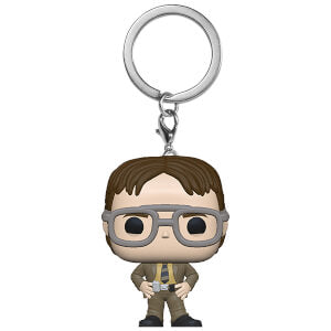 The Office Pocket Pop! Keychain Dwight Schrute - Fugitive Toys