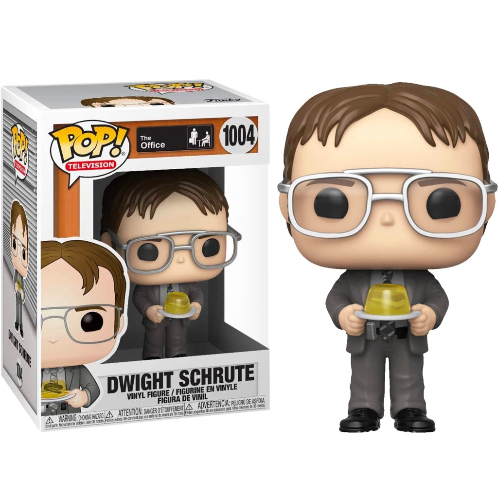 The Office Pop! Vinyl Figure Dwight Schrute (Stapler in Jello) [1004]