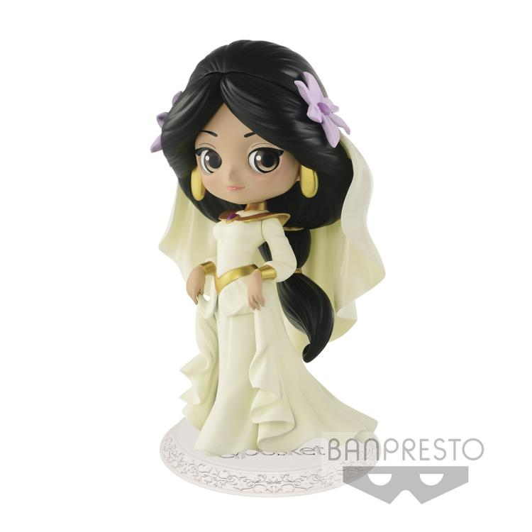 Disney Q Posket Aladdin Jasmine Dreamy Style (Yellow Dress)