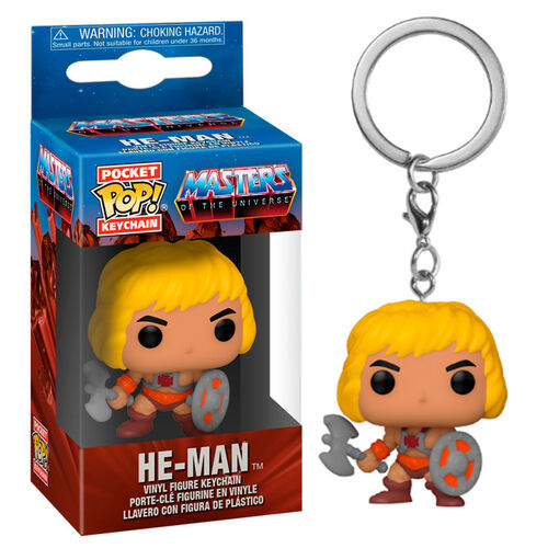 Masters of the Universe Pocket Pop! Keychain He-Man