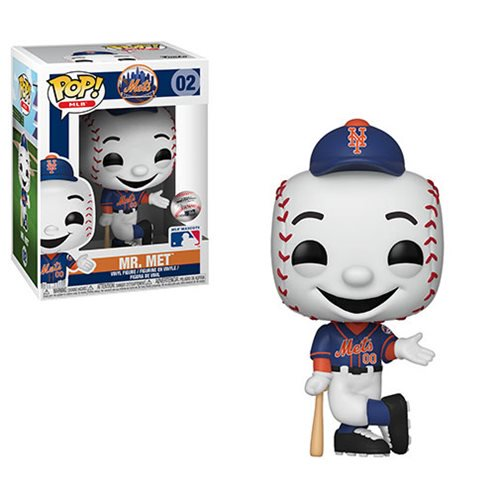 MLB Mascots Pop! Vinyl Figure Mr. Met [New York Mets] [02]