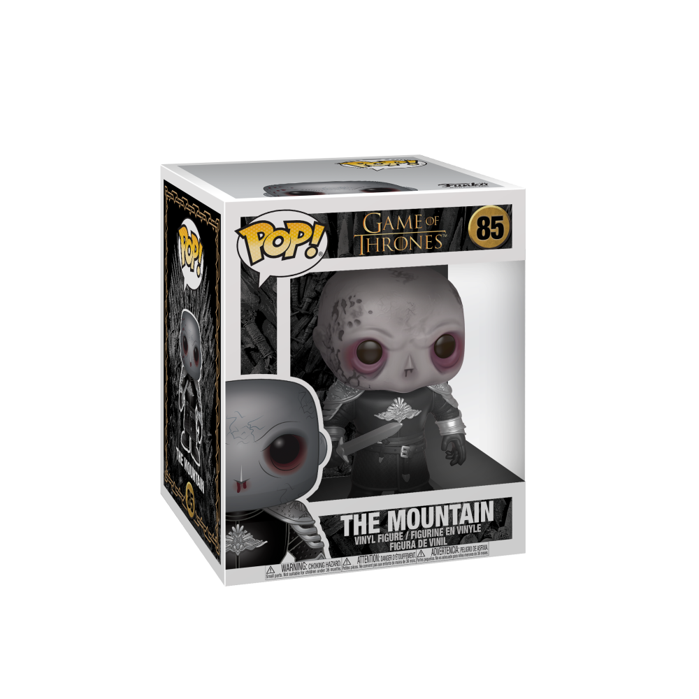 Game of Thrones Pop! Vinyl Figure The Mountain Unmasked [6-Inch] [85]