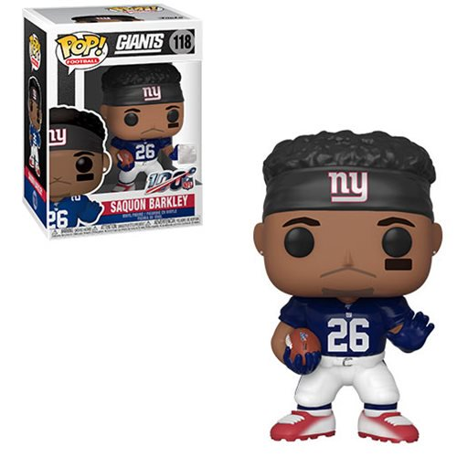 NFL Pop! Vinyl Figure Saquon Barkley (Home Jersey) [New York Giant] [118]