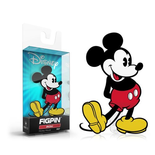 Disney: FiGPiN Mini Enamel Pin Mickey Mouse [M57]