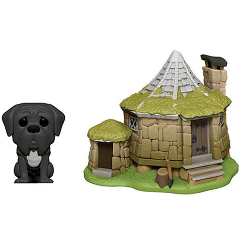 Town Pop! Vinyl Figure Harry Potter Hagrid's House with Fang