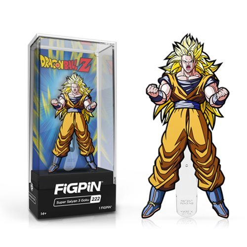 Dragon Ball Z: FiGPiN Enamel Pin Super Saiyan 3 [222]