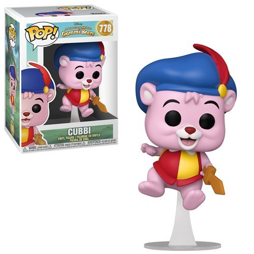 Disney Adventures of the Gummi Bears Pop! Vinyl Figure Cubbi [778]
