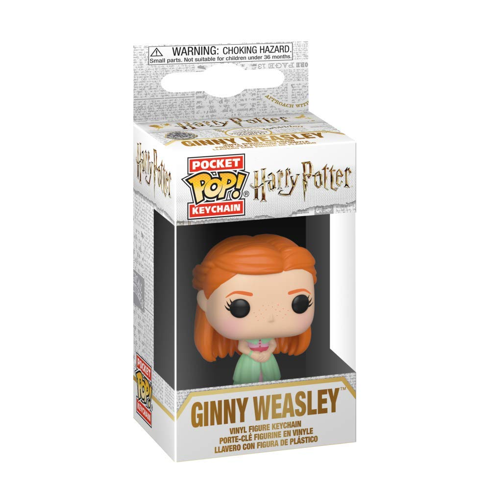 Harry Potter Pocket Pop! Keychain Ginny Weasley (Yule Ball)