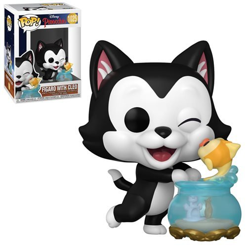 Disney Pinocchio Pop! Vinyl Figure Figaro with Cleo [1025]