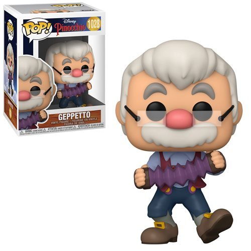 Disney Pinocchio Pop! Vinyl Figure Geppetto with Accordion [1028]