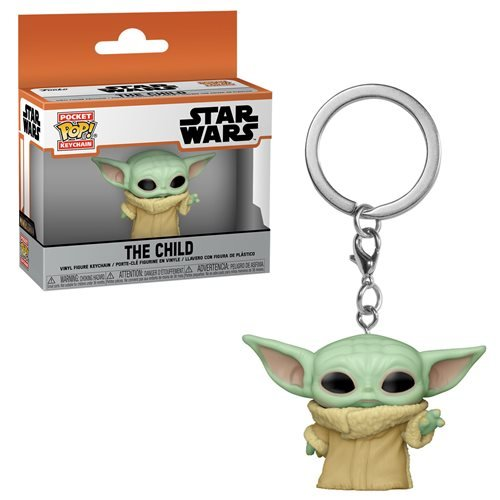 Star Wars The Mandalorian Pocket Pop! Keychain The Child (Force Wielding)